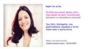 Siyantia Daniela Scaion poder universal